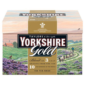 Yorkshire Gold Tea Bags 160s