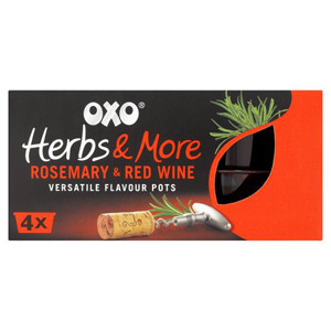 Oxo Herbs & More 4 Pack Rosemary & Red Wine 80g