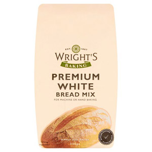 Wrights Bread Mix Premium White
