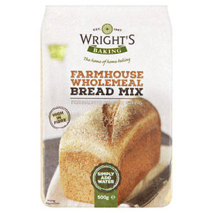 Wrights Bread Mix Wholemeal