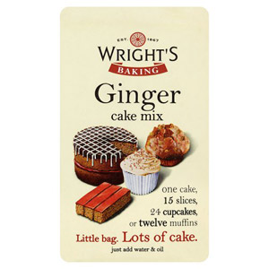Wrights Ginger Cake Mix