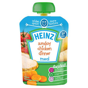 Heinz 7 Month Sunday Chicken Dinner Pouch