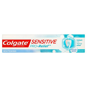 Colgate Sensitive Pro Relief Plus Whitening Toothpaste