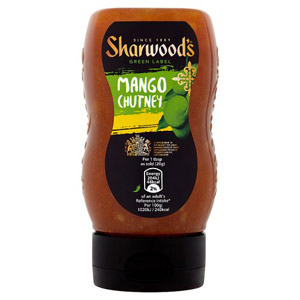 Sharwoods Green Label Mango Chutney Squeezy