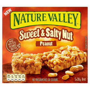 Nature Valley Sweet & Nutty Peanut 5 Pack