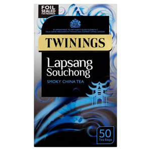 Twinings Lapsang Souchong Tea Bags 50 Pack
