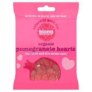 Biona Organic Vegan Sweets Pomegranate Hearts