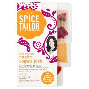 The Spice Tailor Curry Kit Rustic Rogan Josh