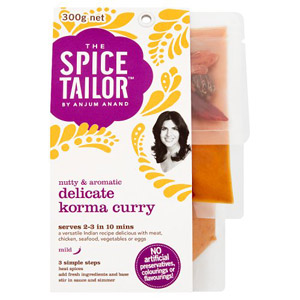 The Spice Tailor Curry Kit Delicate Korma