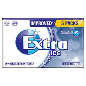 Wrigleys Extra Ice 5 Pack