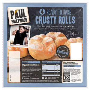 Paul Hollywood 6 Ready To Bake Crusty Rolls