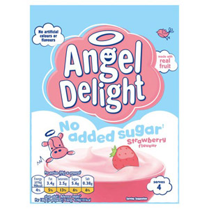 Angel Delight No Added Sugar Strawberry