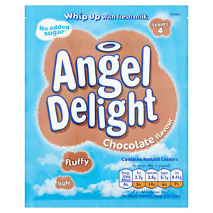 Angel Delight No Added Sugar Chocolate