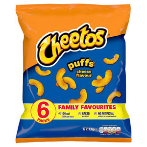 Cheetos Cheese Puffs 8 Pack