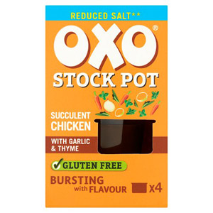 Oxo Stock Pots 4 Pack Reduced Salt Chicken