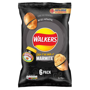 Walkers Marmite Crisps 6 Pack