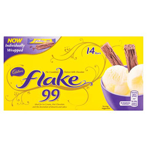 Cadbury Flake 99s 14 Pack