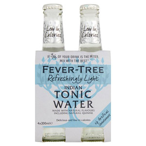 Fever-Tree Naturally Light Tonic Water 4 Pack