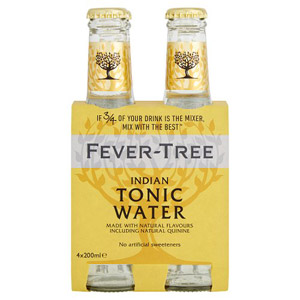 Fever-Tree Indian Tonic Water 4 Pack