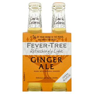 Fever-Tree Refreshingly Light Ginger Ale 4 Pack