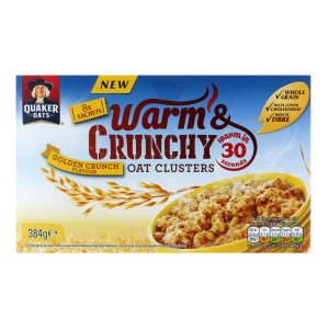 Quaker Warm and Crunchy Golden Crunch