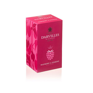 Darvilles Of Windsor Raspberry & Ginseng Infusions 25 Teabags