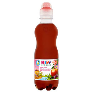 Hipp 12 Month Organic Apple Grape & Blackcurrant Juice with Mineral Water