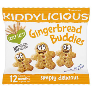Kiddylicious 12 Month Gingerbread Buddies