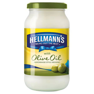 Hellmanns Olive Oil Mayonnaise Style Dressing