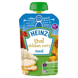 Heinz 10 Month Thai Chicken Curry Pouch