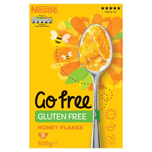 Nestle Gluten Free Honey Corn Flakes