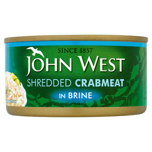 John West Shredded Crab