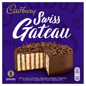 Cadbury Swiss Chocolate Gateau