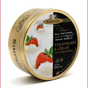 Simpkins Strawberry and Cream