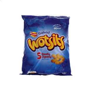 Walkers Wotsits Cheese 5 for 4 Pack 125g