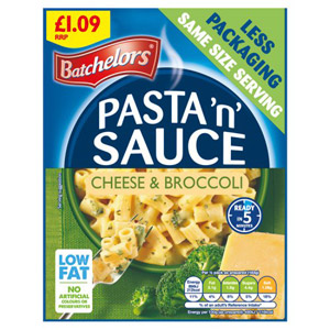 Batchelors Cheese & Broccoli Pasta in Sauce Price Marked 110g