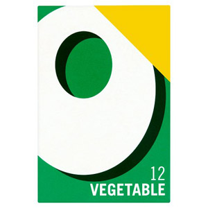 Oxo Vegetable Cubes 12 Pack Price Marked