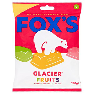 Foxs Glacier Fruits Price Marked