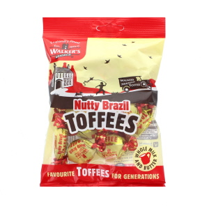 Walkers Nonsuch Nutty Brazil Toffees