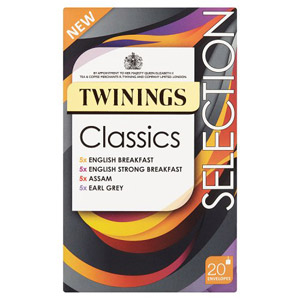 Twinings Classic Selection 20 Pack