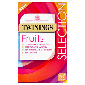Twinings Fruit Selection 20 Pack