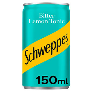 Schweppes Bitter Lemon Mini Can