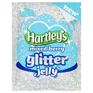 Hartleys Mixed Berry Glitter Jelly