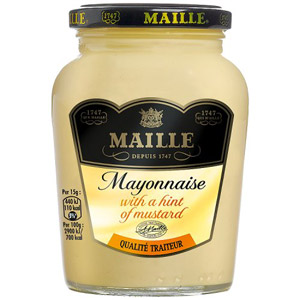 Maille Mayonnaise Jar With a Hint of Mustard