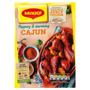 Maggi So Juicy Cajun Chicken
