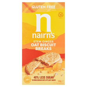 Nairns Gluten Free Biscuit Breaks Oats & Ginger