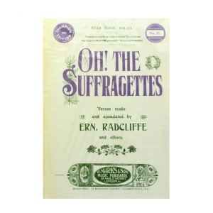 Suffragettes A5 Journal