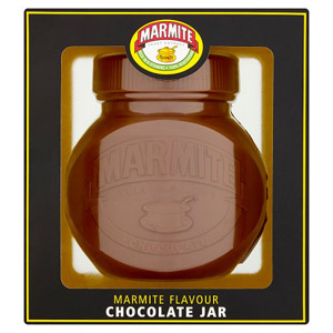 Marmite Hollow Chocolate Jar