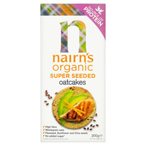 Nairns Super Seeded Oatcakes