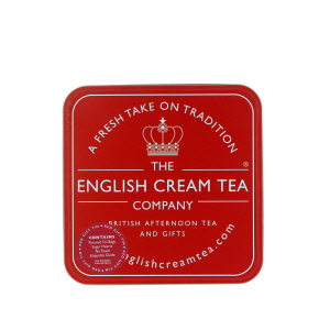 English Cream Tea Company Red Gift Tin